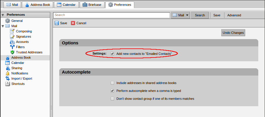 Zimbra unselect emailed contacts.png