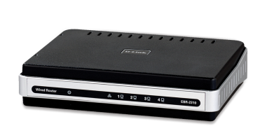 A typical DLink router, the model EBR 2310
