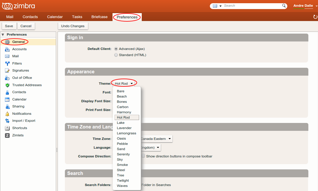 Zimbra8 advanced theme.png