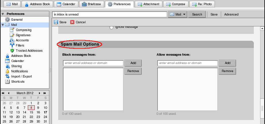 File:Zimbra Spam Control.png