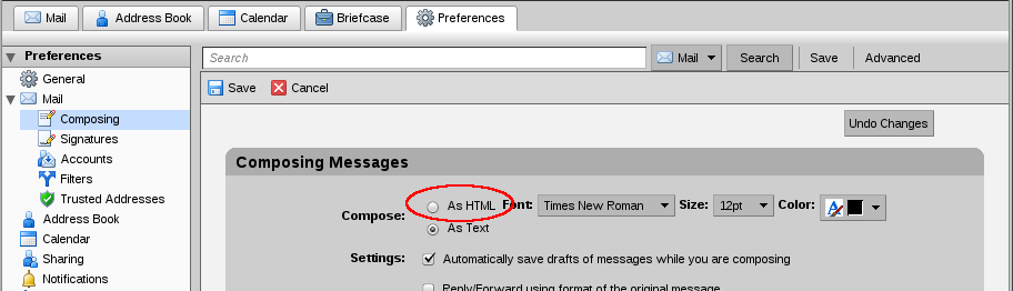 File:Zimbra composing as HTML.png