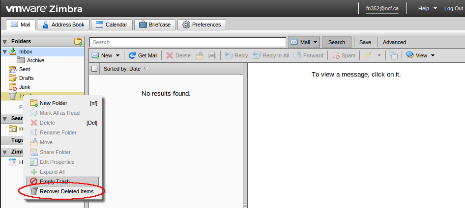File:Zimbra recovering deleted mail.png