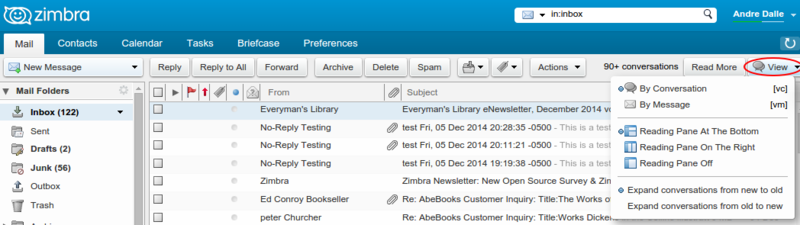 Zimbra8 advanced view.png