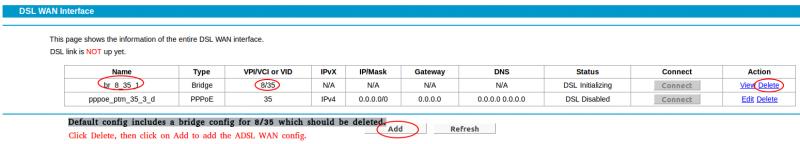 tp link router setup page